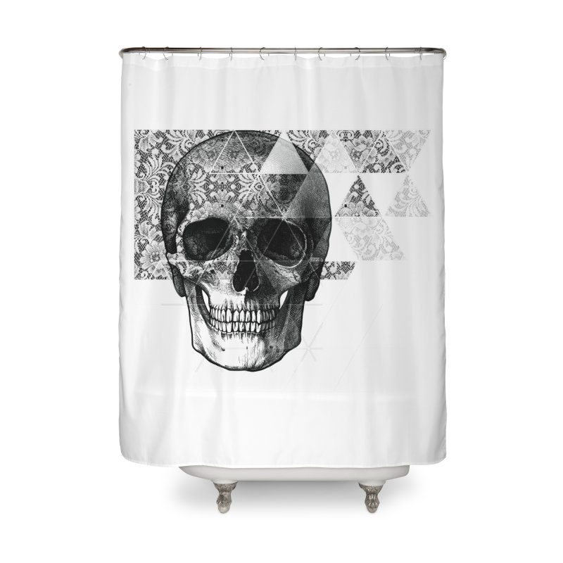 Dias de los Geomuertos Home Shower Curtain by ANTHROPOLESLEY