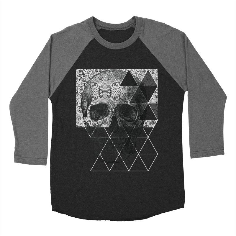 Dias de los Geomuertos Men's Baseball Triblend Longsleeve T-Shirt by ANTHROPOLESLEY