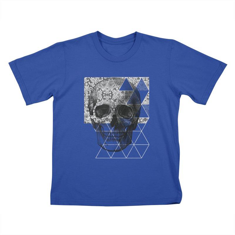 Dias de los Geomuertos Kids T-Shirt by ANTHROPOLESLEY
