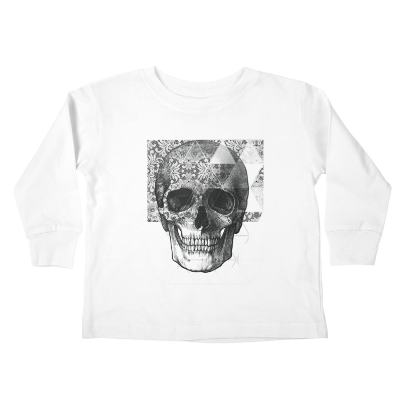 Dias de los Geomuertos Kids Toddler Longsleeve T-Shirt by ANTHROPOLESLEY
