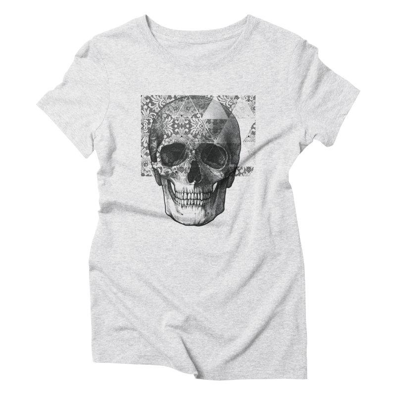Dias de los Geomuertos Women's Triblend T-Shirt by ANTHROPOLESLEY