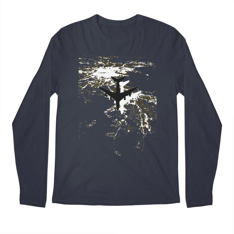 Leaving Boston Men's Regular Longsleeve T-Shirt by ANTHROPOLESLEY