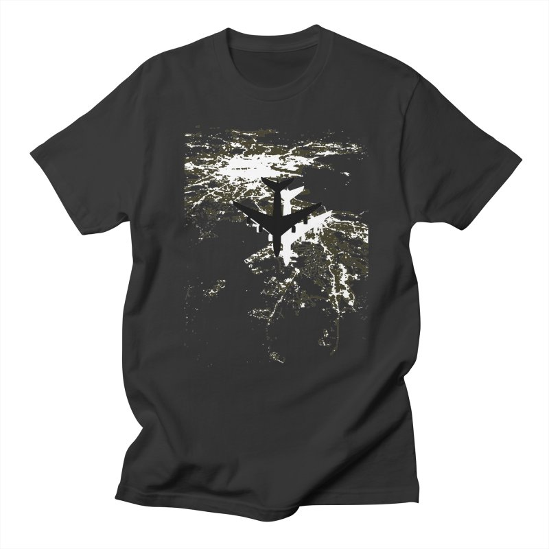 Leaving Boston Men's Regular T-Shirt by ANTHROPOLESLEY