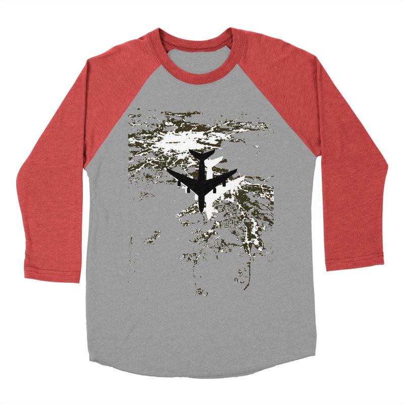 Leaving Boston Women's Baseball Triblend Longsleeve T-Shirt by ANTHROPOLESLEY