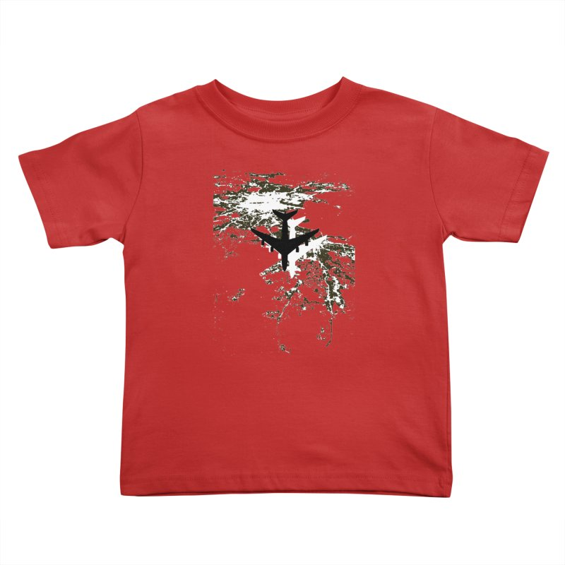 Leaving Boston Kids Toddler T-Shirt by ANTHROPOLESLEY