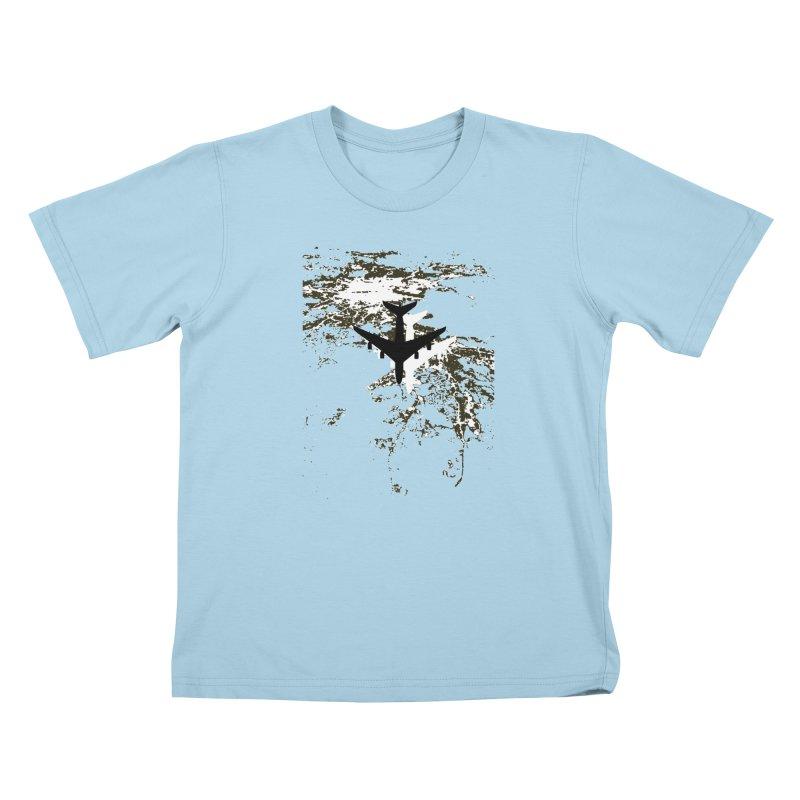 Leaving Boston Kids T-Shirt by ANTHROPOLESLEY