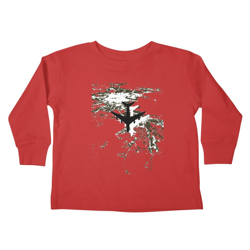 Leaving Boston Kids Toddler Longsleeve T-Shirt by ANTHROPOLESLEY