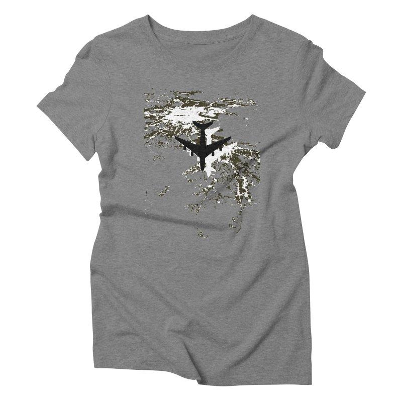 Leaving Boston Women's Triblend T-Shirt by ANTHROPOLESLEY