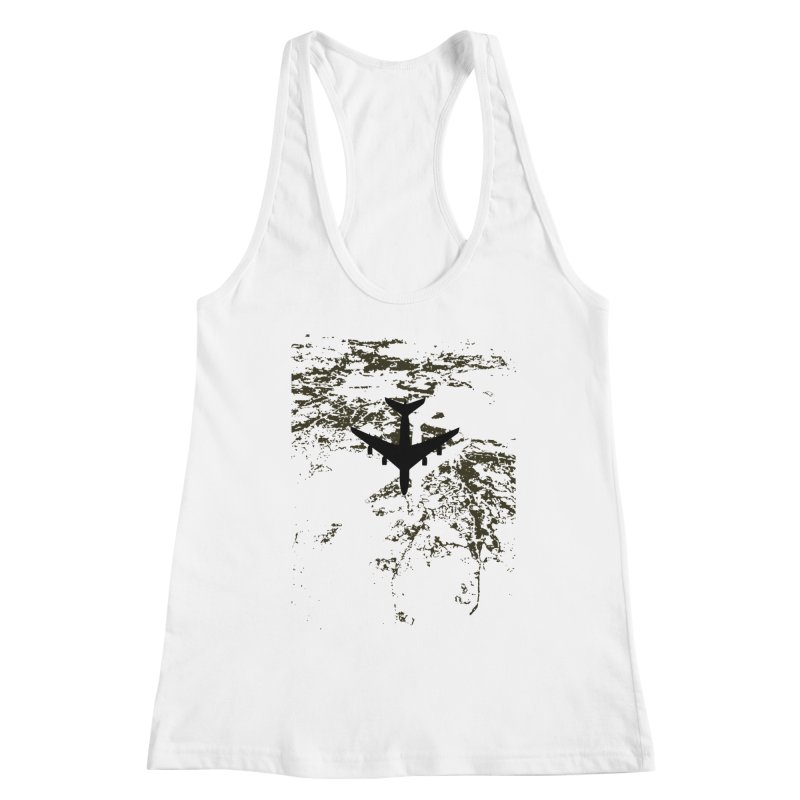 Leaving Boston Women's Racerback Tank by ANTHROPOLESLEY