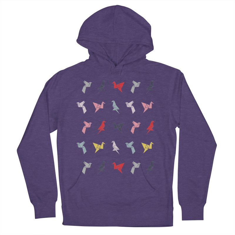 Origami Bird 6 Women's French Terry Pullover Hoody by ANTHROPOLESLEY