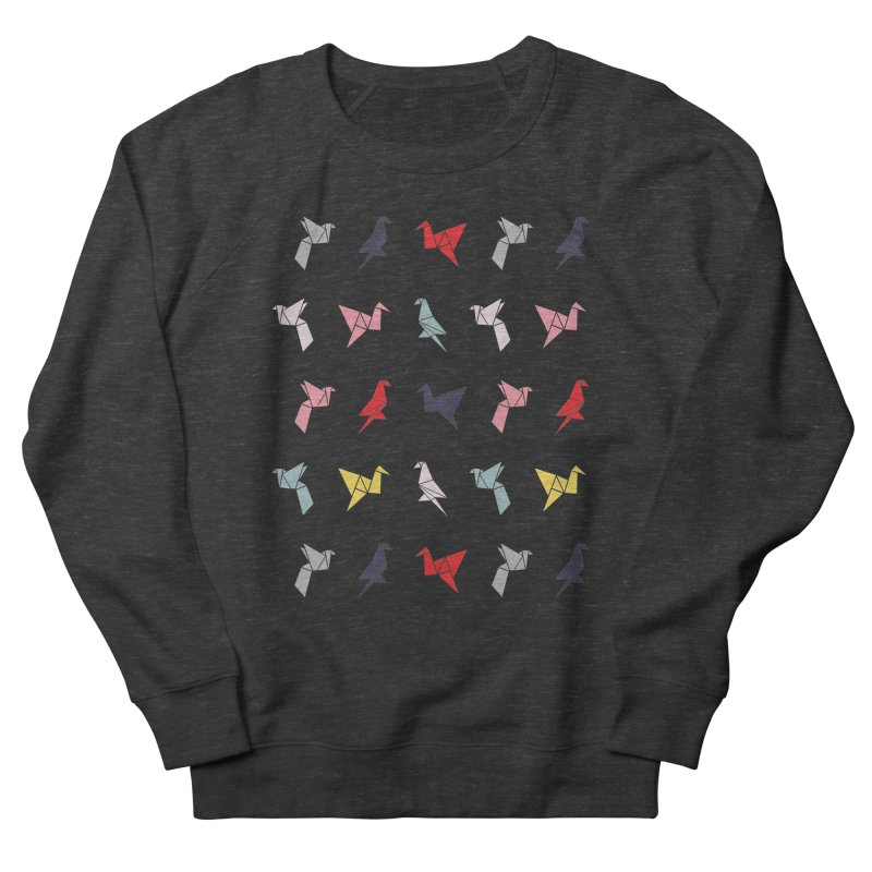 Origami Bird 6 Men's French Terry Sweatshirt by ANTHROPOLESLEY