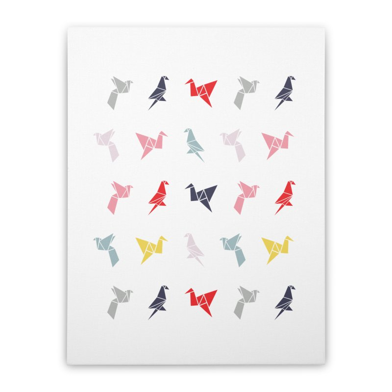 Origami Bird 6 Home Stretched Canvas by ANTHROPOLESLEY
