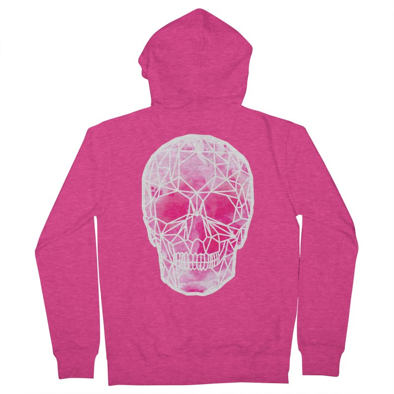 Crystal Skull Pink in Women's Zip-Up Hoody Heather Heliconia by ANTHROPOLESLEY