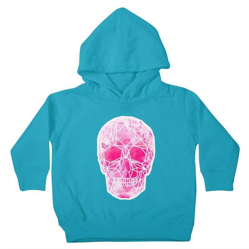 Crystal Skull Pink Kids Toddler Pullover Hoody by ANTHROPOLESLEY