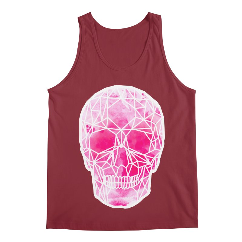 Crystal Skull Pink Men's Regular Tank by ANTHROPOLESLEY