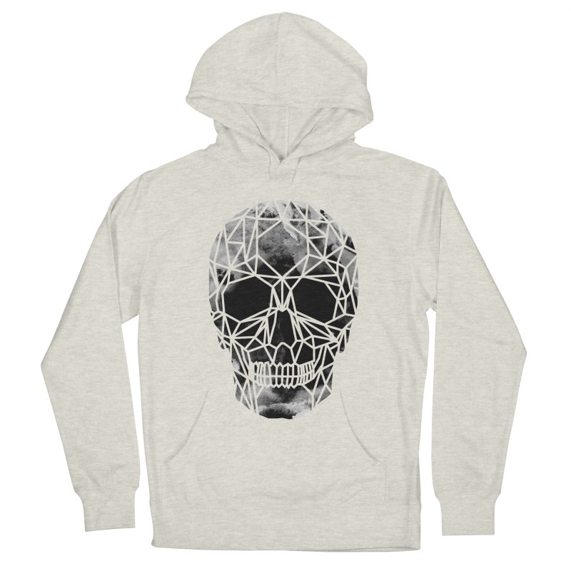 Crystal Skull B+W Infrared Women's French Terry Pullover Hoody by ANTHROPOLESLEY
