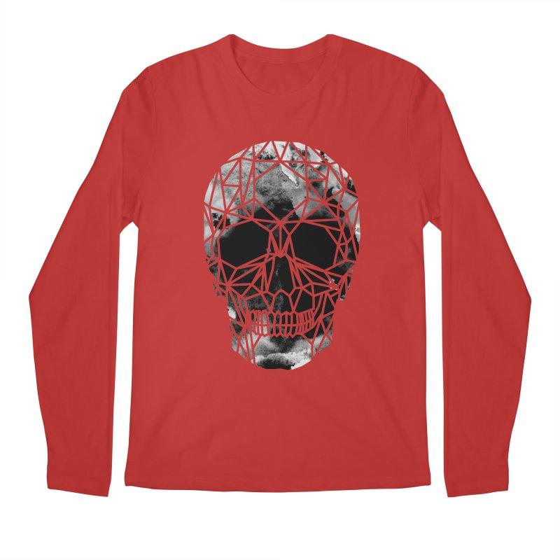 Crystal Skull B+W Infrared Men's Regular Longsleeve T-Shirt by ANTHROPOLESLEY