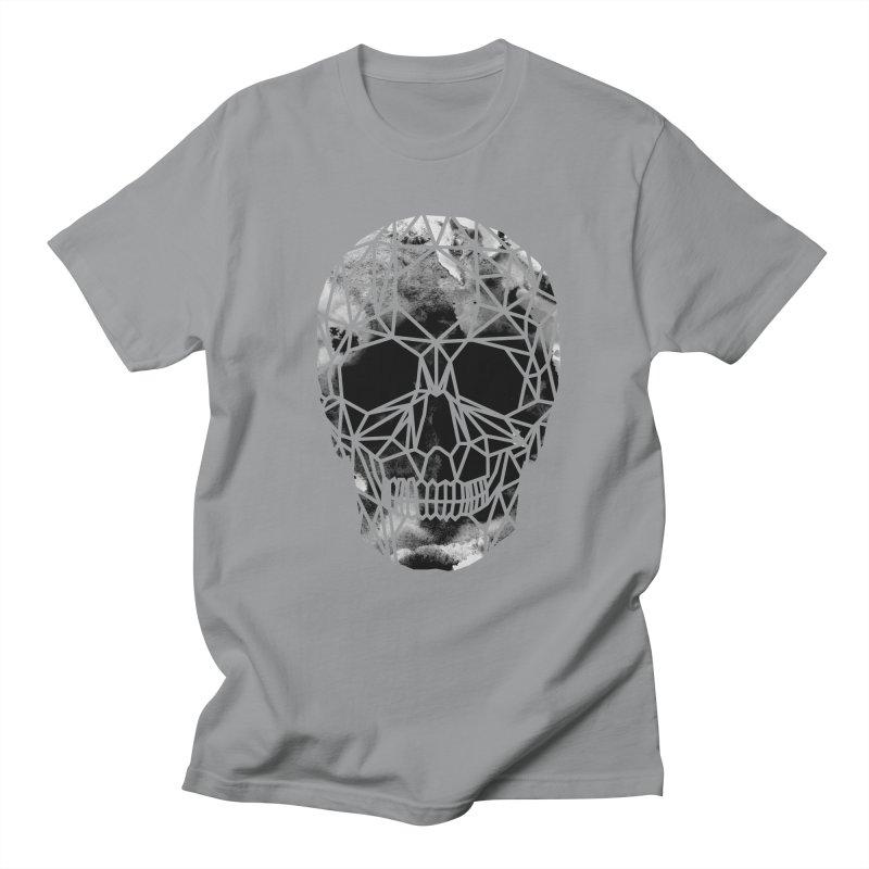 Crystal Skull B+W Infrared Men's Regular T-Shirt by ANTHROPOLESLEY