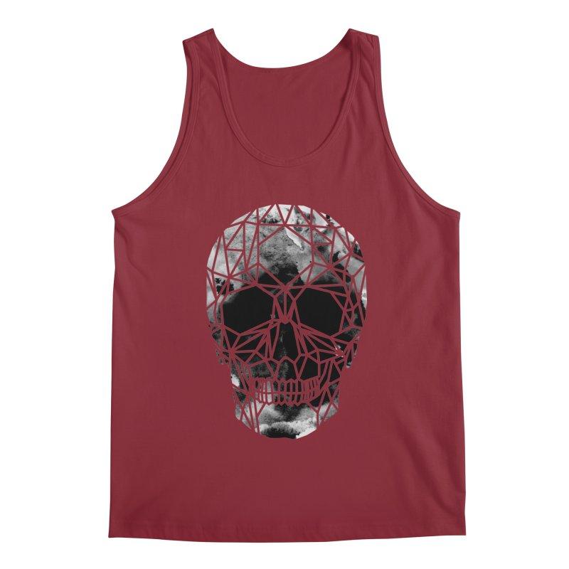 Crystal Skull B+W Infrared Men's Tank by ANTHROPOLESLEY