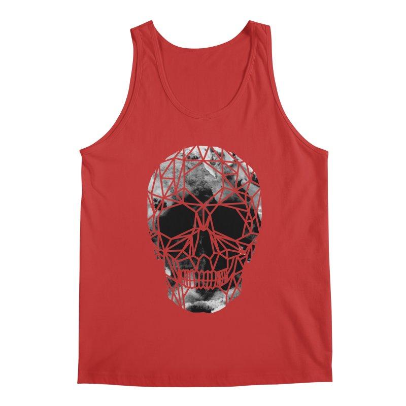 Crystal Skull B+W Infrared Men's Regular Tank by ANTHROPOLESLEY