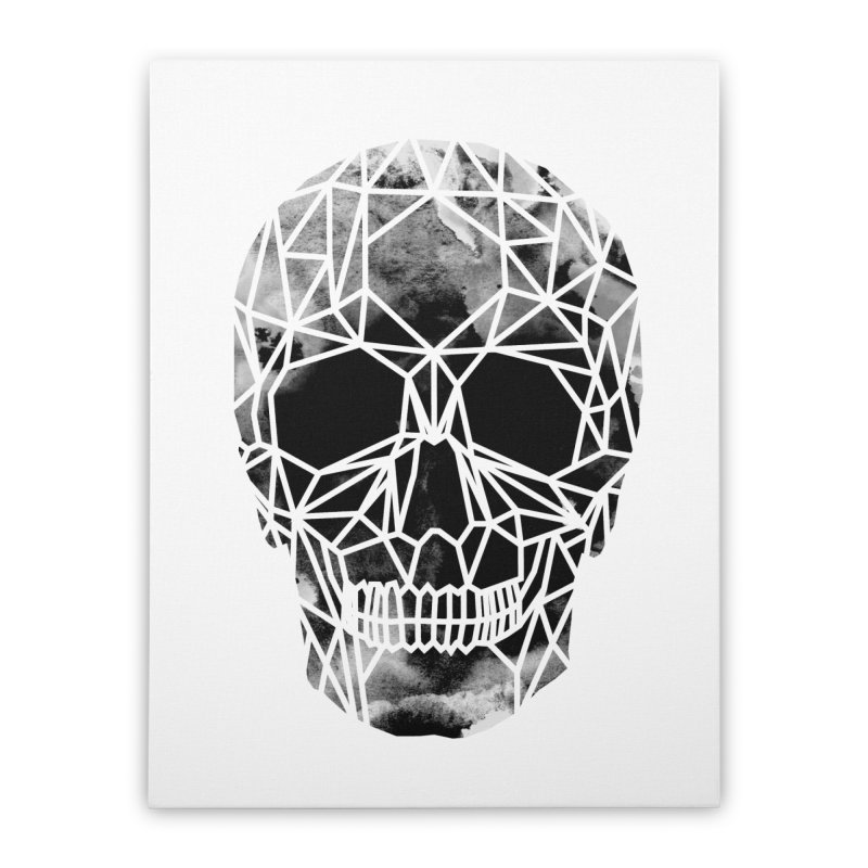 Crystal Skull B+W Infrared Home Stretched Canvas by ANTHROPOLESLEY