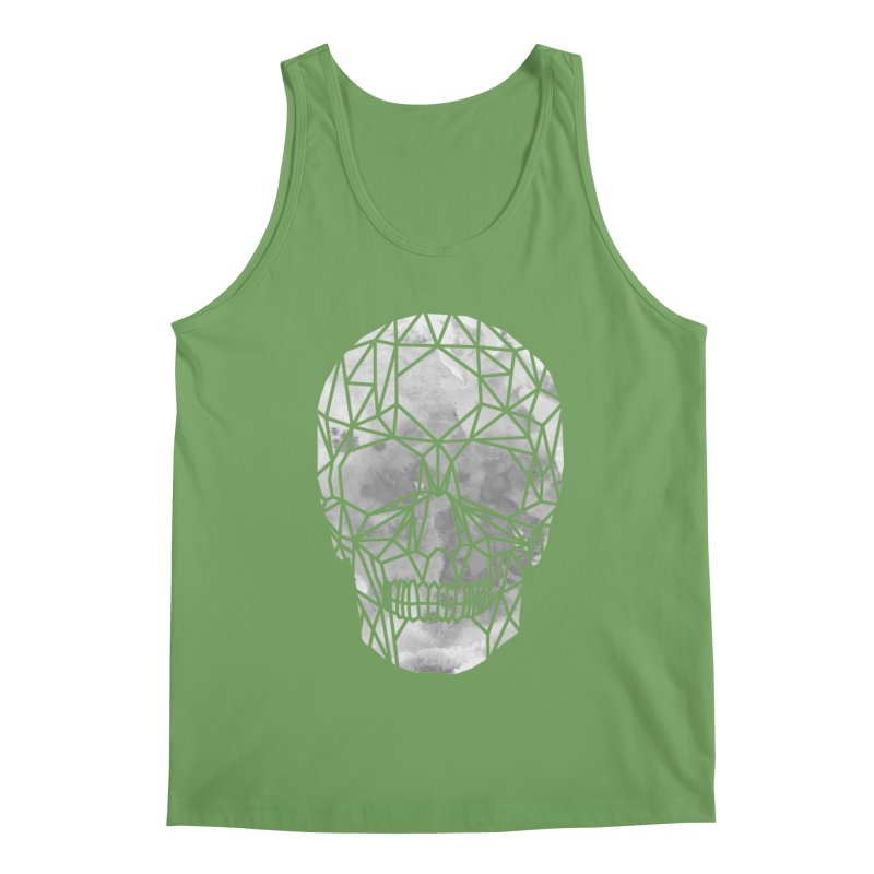 Crystal Skull B+W Chrome Men's Tank by ANTHROPOLESLEY