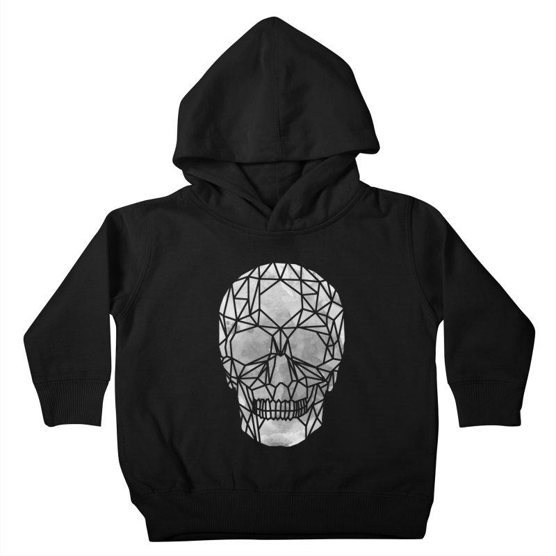 Crystal Skull B+W Chrome Kids Toddler Pullover Hoody by ANTHROPOLESLEY