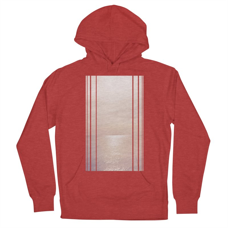 Silver Sky for Planet Provincetown Women's French Terry Pullover Hoody by ANTHROPOLESLEY