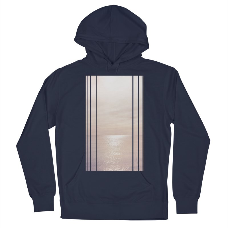 Silver Sky for Planet Provincetown Men's French Terry Pullover Hoody by ANTHROPOLESLEY