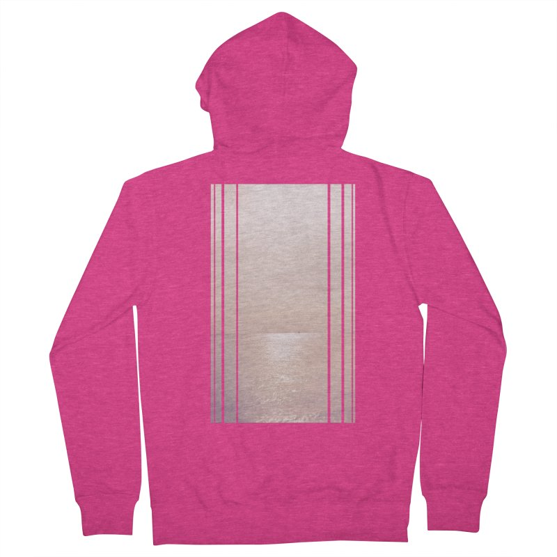 Silver Sky for Planet Provincetown Women's French Terry Zip-Up Hoody by ANTHROPOLESLEY