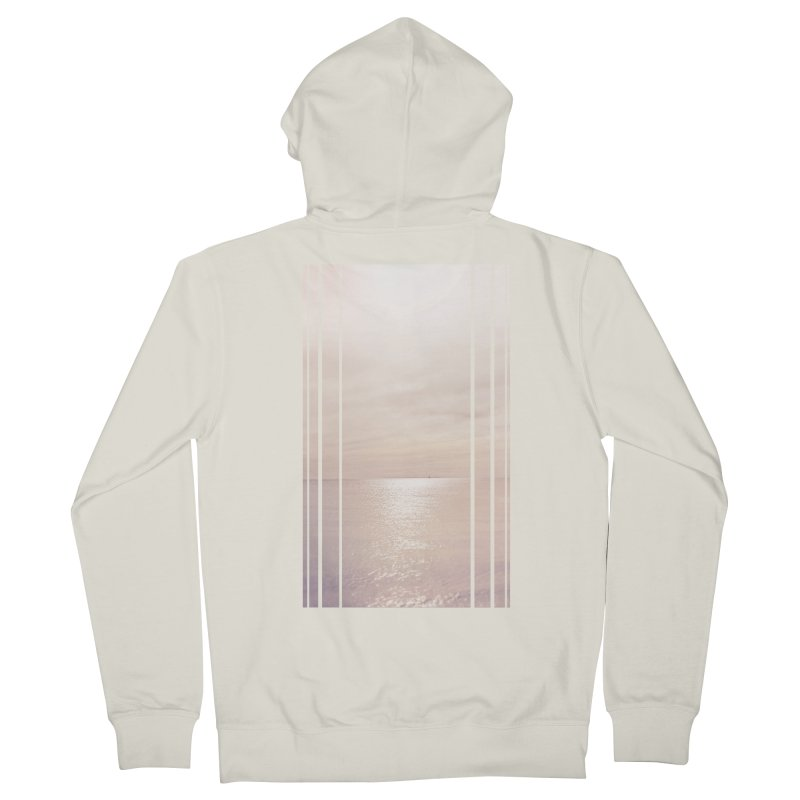 Silver Sky for Planet Provincetown Men's French Terry Zip-Up Hoody by ANTHROPOLESLEY