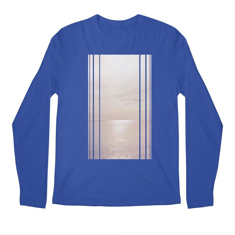 Silver Sky for Planet Provincetown Men's Regular Longsleeve T-Shirt by ANTHROPOLESLEY