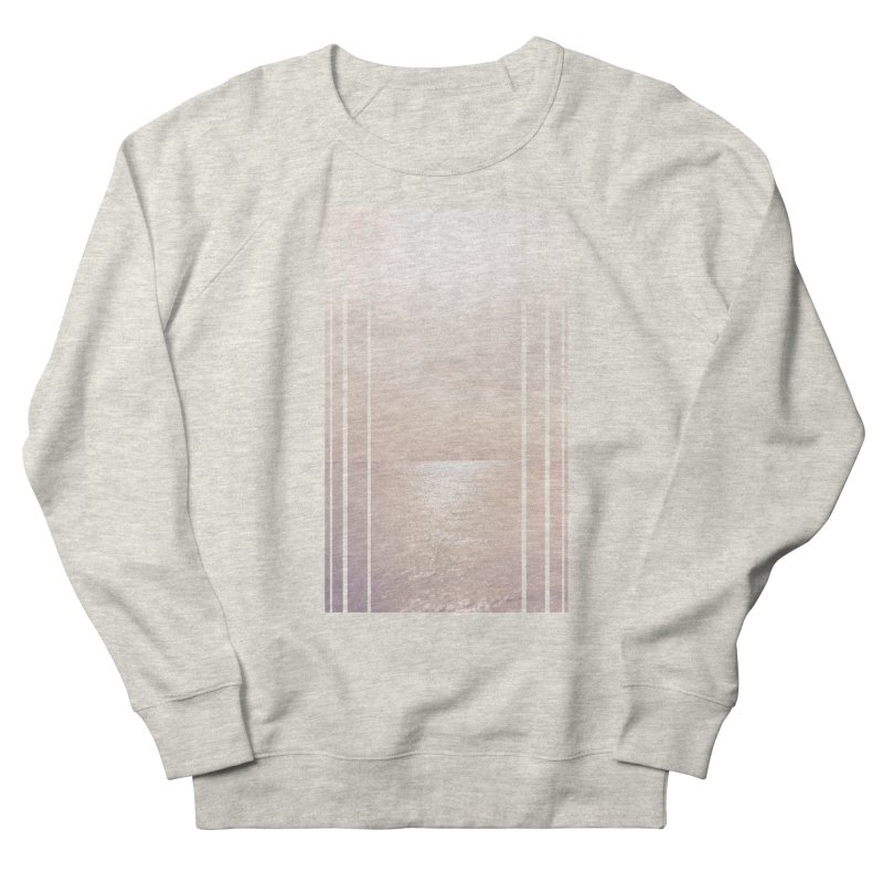 Silver Sky for Planet Provincetown Men's French Terry Sweatshirt by ANTHROPOLESLEY