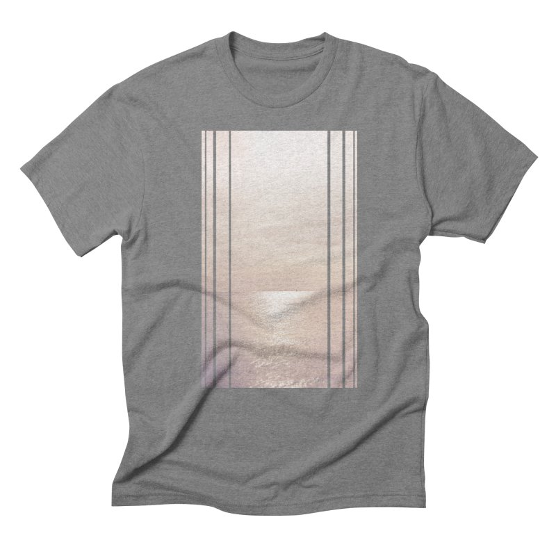 Silver Sky for Planet Provincetown Men's Triblend T-Shirt by ANTHROPOLESLEY