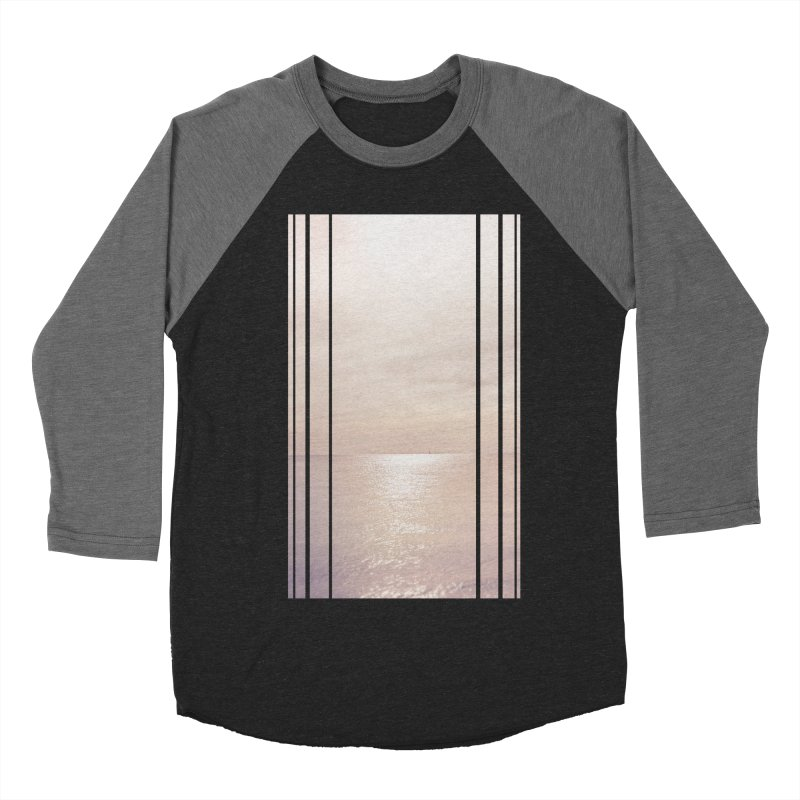 Silver Sky for Planet Provincetown Women's Baseball Triblend Longsleeve T-Shirt by ANTHROPOLESLEY