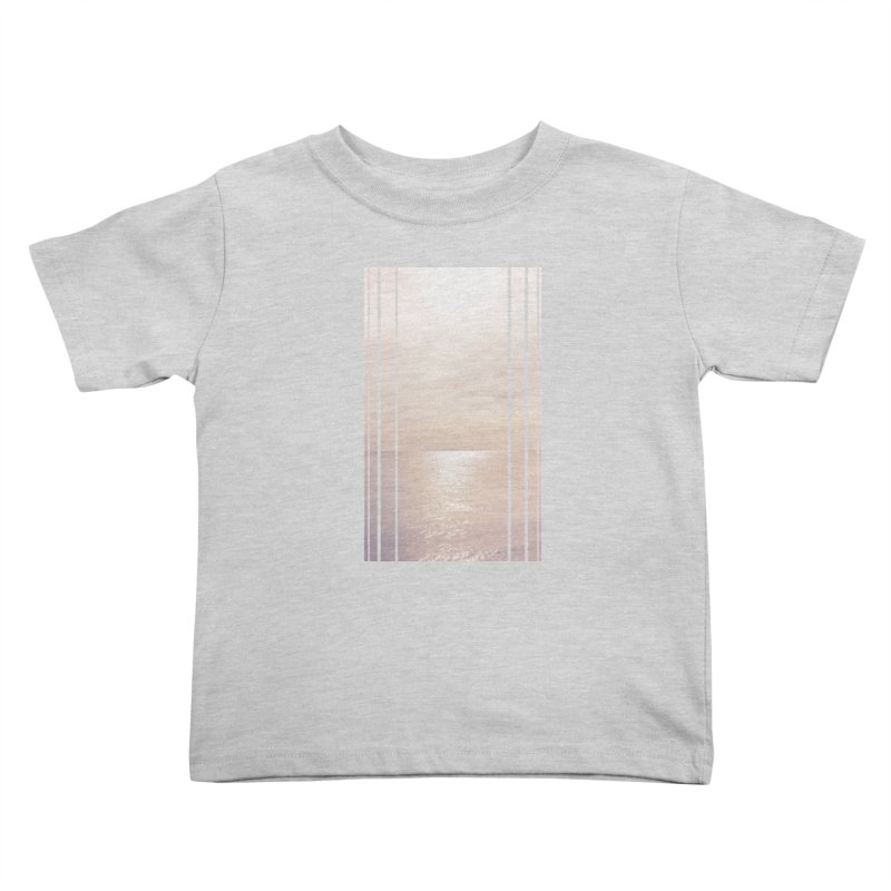 Silver Sky for Planet Provincetown Kids Toddler T-Shirt by ANTHROPOLESLEY