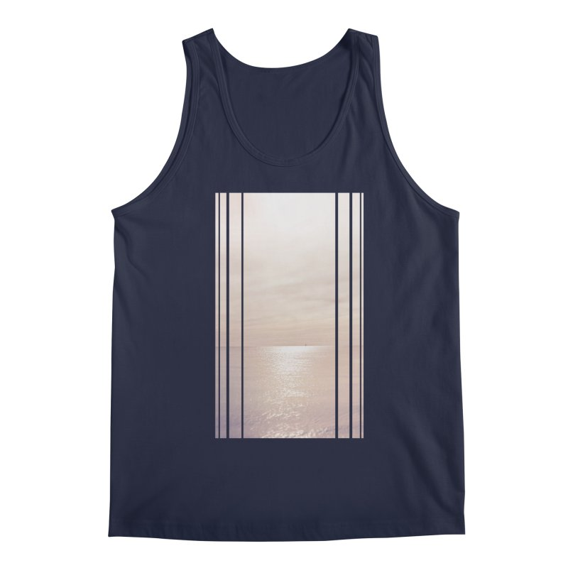 Silver Sky for Planet Provincetown Men's Regular Tank by ANTHROPOLESLEY