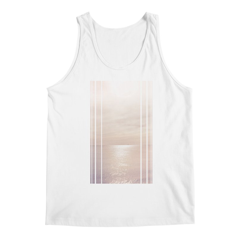 Silver Sky for Planet Provincetown Men's Tank by ANTHROPOLESLEY