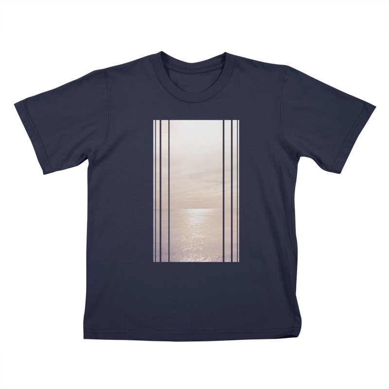 Silver Sky for Planet Provincetown Kids T-Shirt by ANTHROPOLESLEY