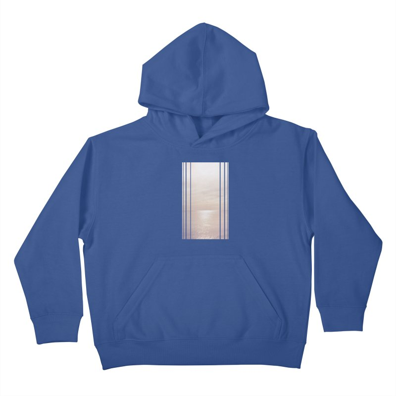 Silver Sky for Planet Provincetown Kids Pullover Hoody by ANTHROPOLESLEY