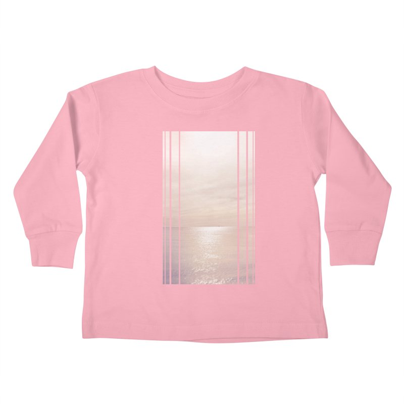 Silver Sky for Planet Provincetown Kids Toddler Longsleeve T-Shirt by ANTHROPOLESLEY