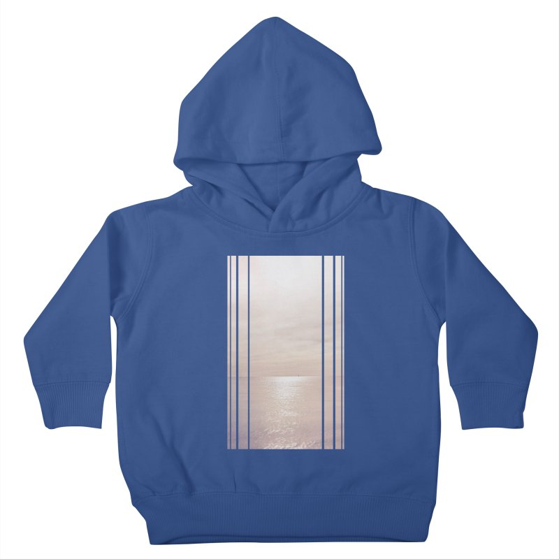 Silver Sky for Planet Provincetown Kids Toddler Pullover Hoody by ANTHROPOLESLEY