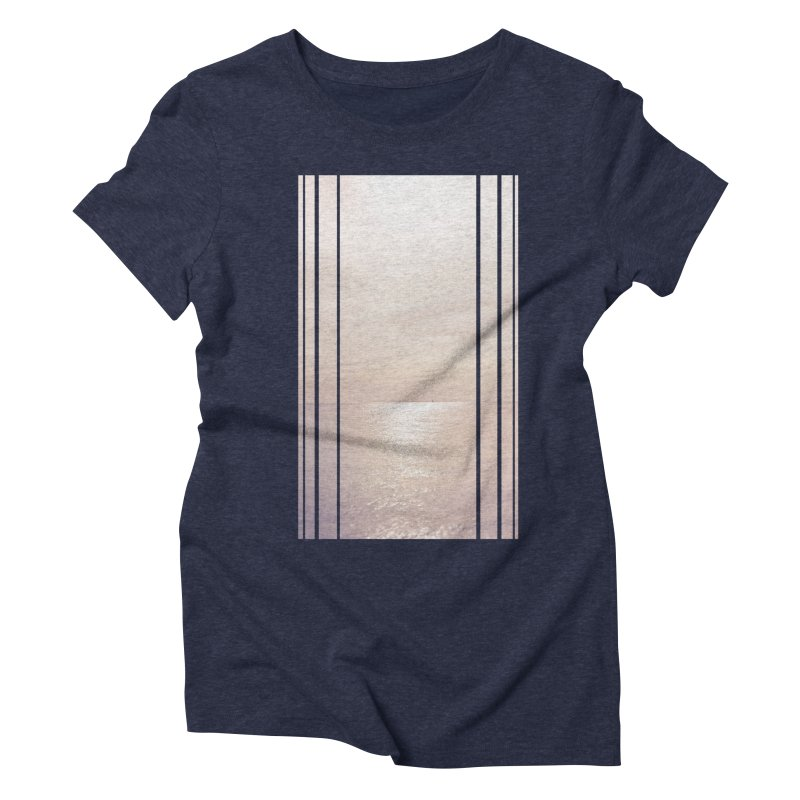 Silver Sky for Planet Provincetown Women's Triblend T-Shirt by ANTHROPOLESLEY