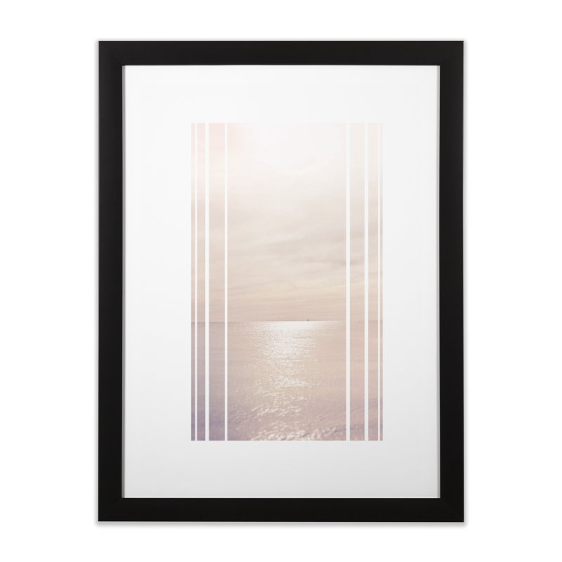 Silver Sky for Planet Provincetown Home Framed Fine Art Print by ANTHROPOLESLEY