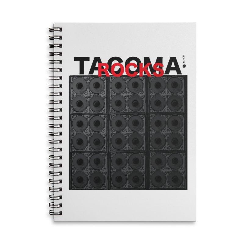 Tacomarocks Accessories Notebook by ARPTOONS's Artist Shop