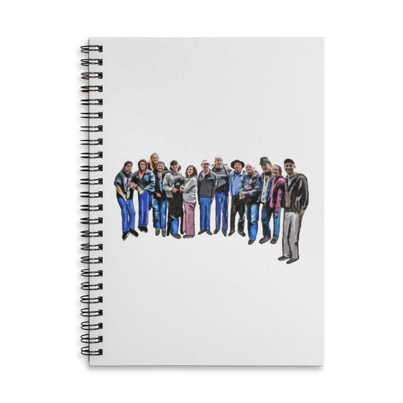 Combs Family 2018 Accessories Notebook by ARPTOONS's Artist Shop