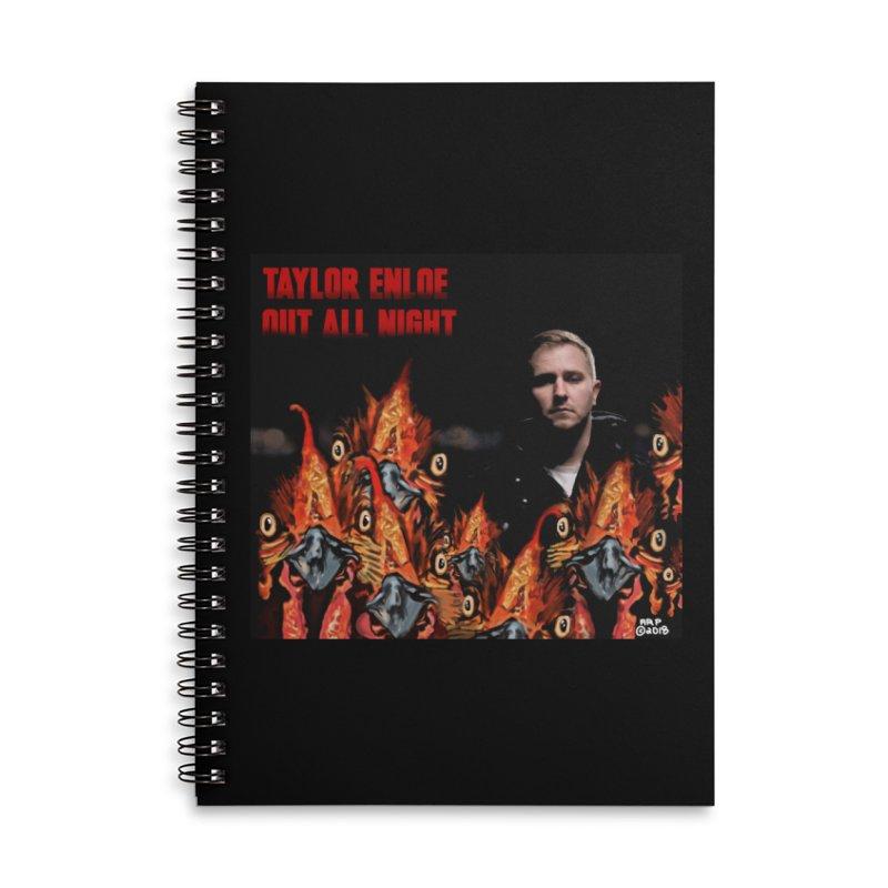 TAYLORENLOE Accessories Notebook by ARPTOONS's Artist Shop
