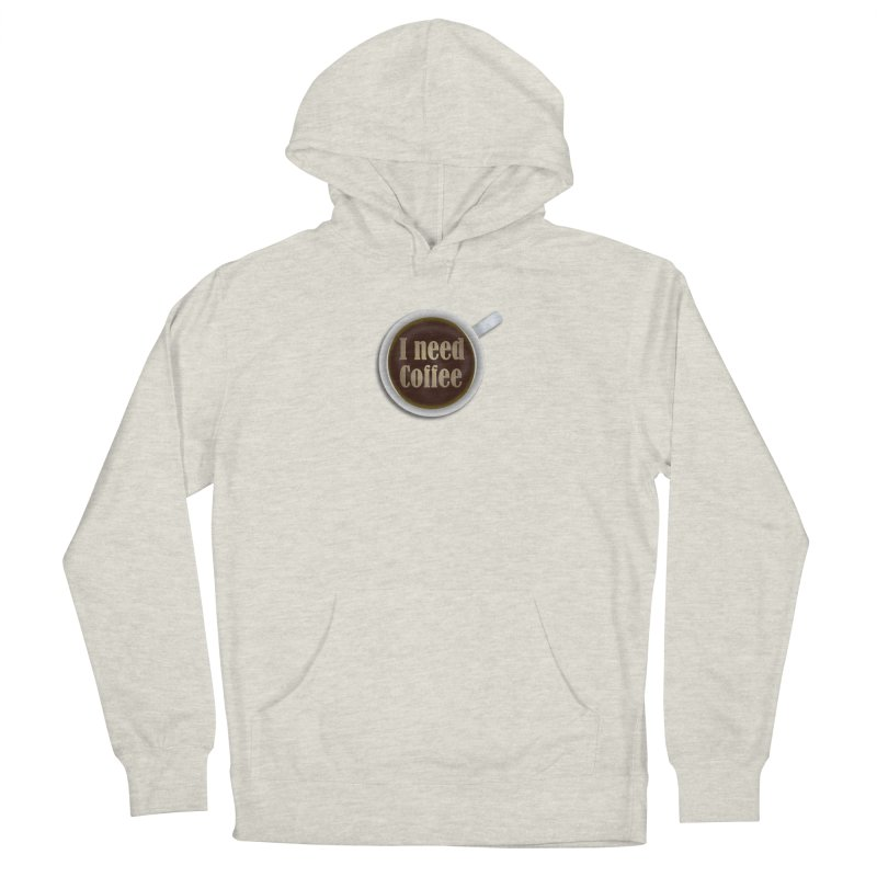 I need Coffee! Classic Edition Men's Pullover Hoody by ARTinfusion - Get your's now!