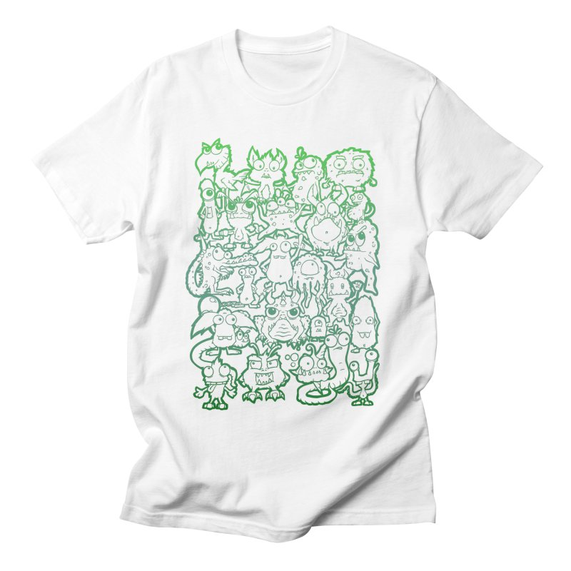 Monster Party - The Great Meeting! Green Edition Men's T-Shirt by ARTinfusion - Get your's now!