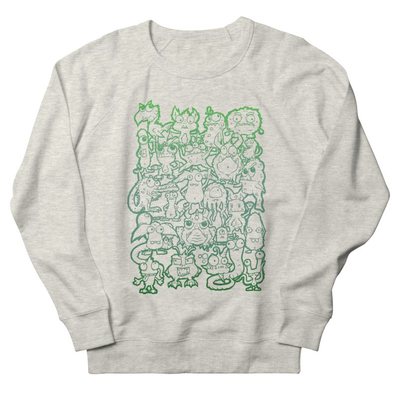Monster Party - The Great Meeting! Green Edition Men's Sweatshirt by ARTinfusion - Get your's now!
